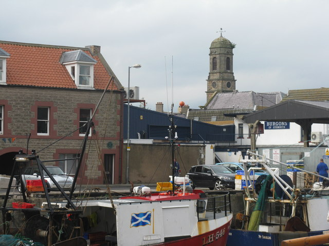 Roofscape at Eyemouth