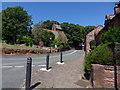 SJ2285 : Caldy Village by J Scott