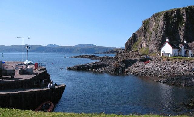Slipway and harbour, Ellenabeich