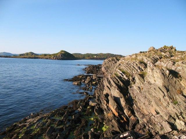 Rocks on the Argyll coast
