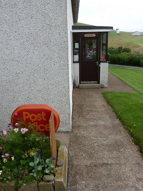 Reawick: the post office
