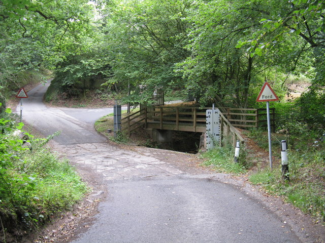 Gladder Brook ford, Heightington Road