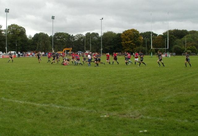 Pre-season friendly match, Bridge Field, Bedwas