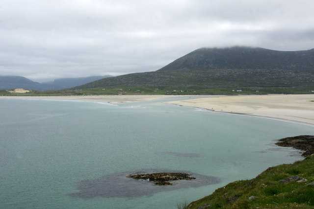 View to Traigh Sheileboist from east of Horgabost