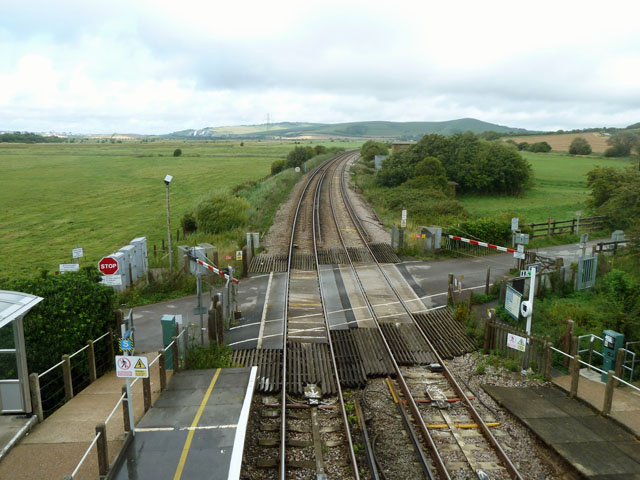 Southease level crossing