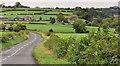 J3997 : The Carrickfergus Road near Gleno by Albert Bridge