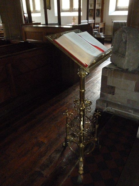 Whitchurch-All Hallows: lectern