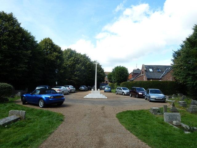 St. John the Baptist, Crawley: churchyard (3)