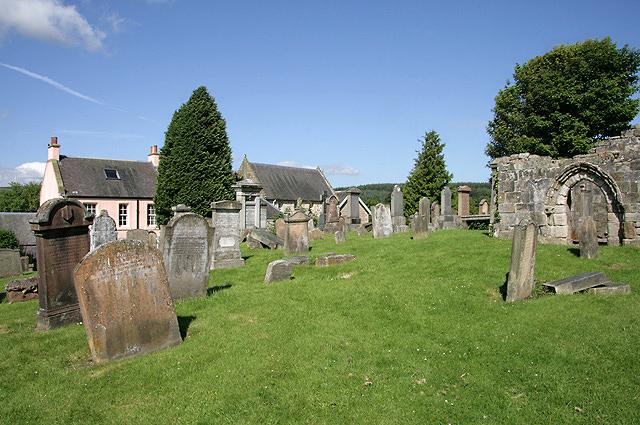 St Bride's Churchyard, Douglas