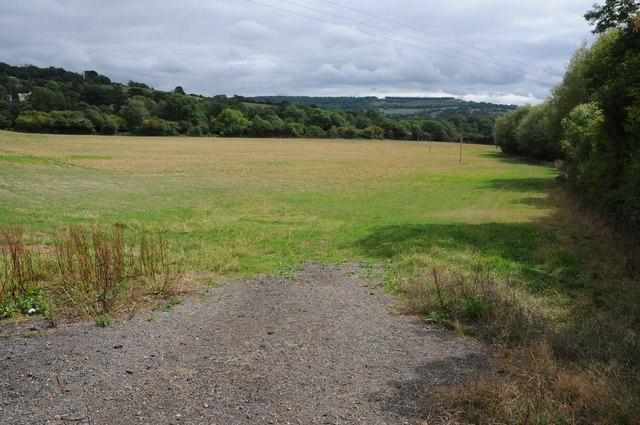 View to Leckampton Hill