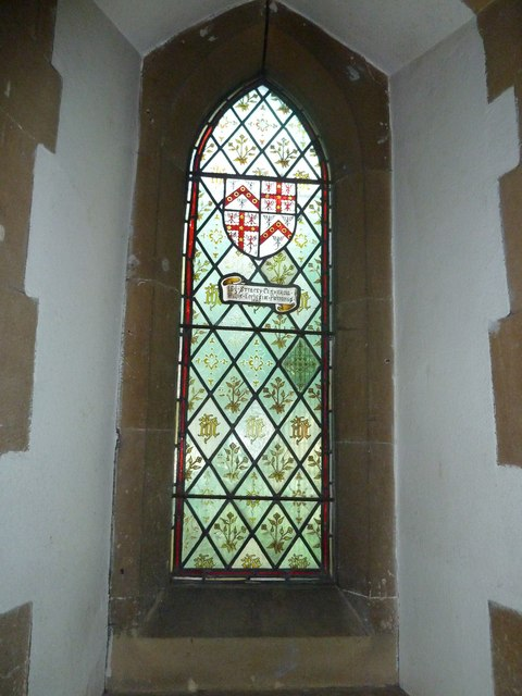 St. John the Baptist, Crawley: stained glass window (ii)
