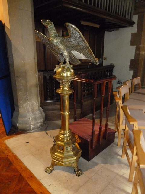 St. John the Baptist, Crawley: lectern