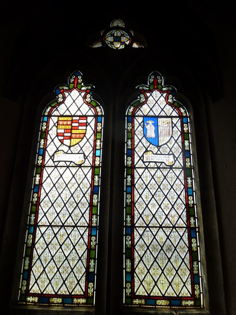 St. John the Baptist, Crawley: stained glass window (v)