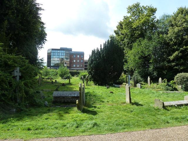 St. John the Baptist, Crawley: churchyard (4)