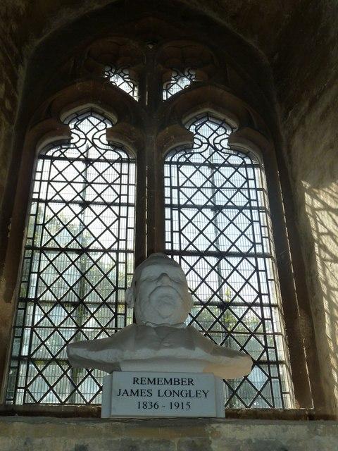 St. John the Baptist, Crawley: stained glass window (viii)