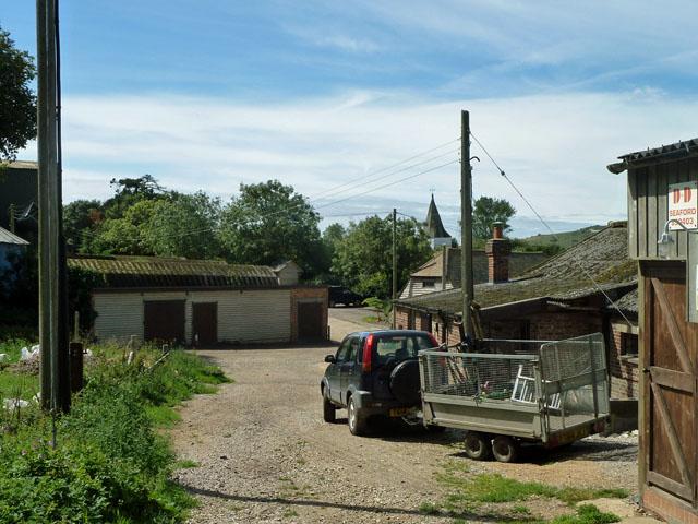 Farmyard, Church Farm