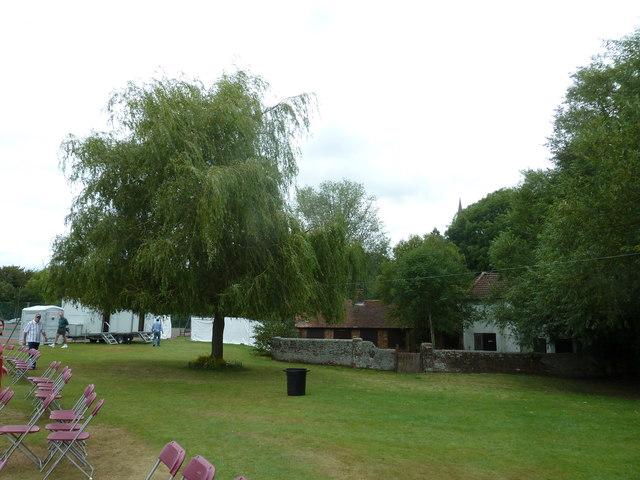 Horsham Cricket Club- looking towards Darren Webb's tree