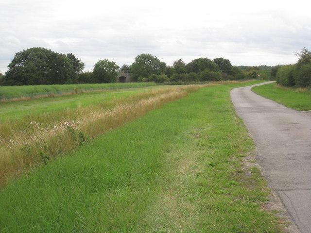 Carr Lane and the railway bridge