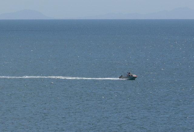 Fishing boat near Trearddur Bay