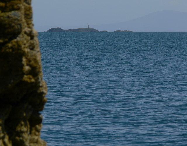 View southeast towards Rhoscolyn Beacon