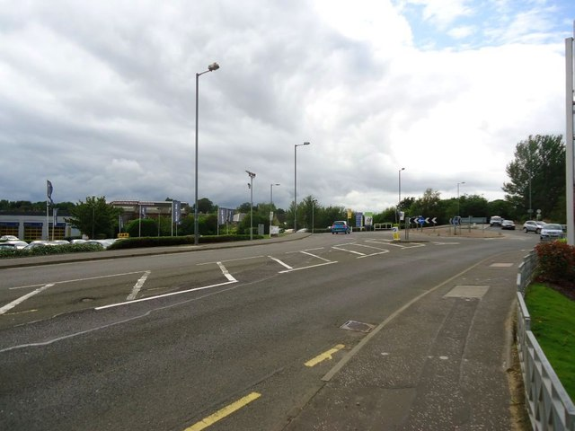 Stirling, Kerse Road roundabout