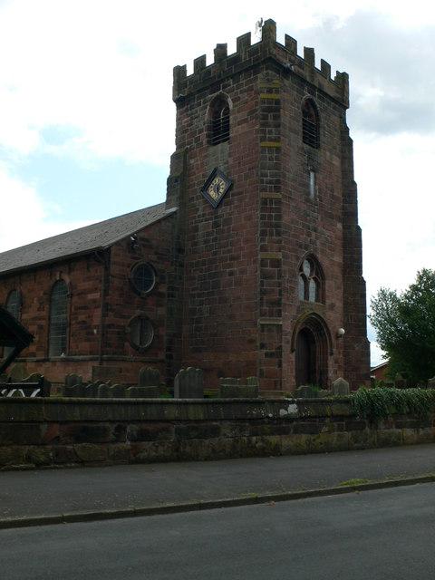 St Mary's Church Tower, Hale
