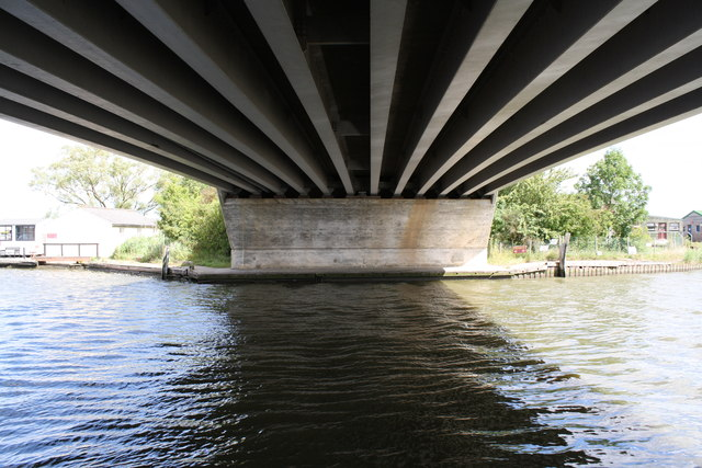 Beneath Acle Bridge