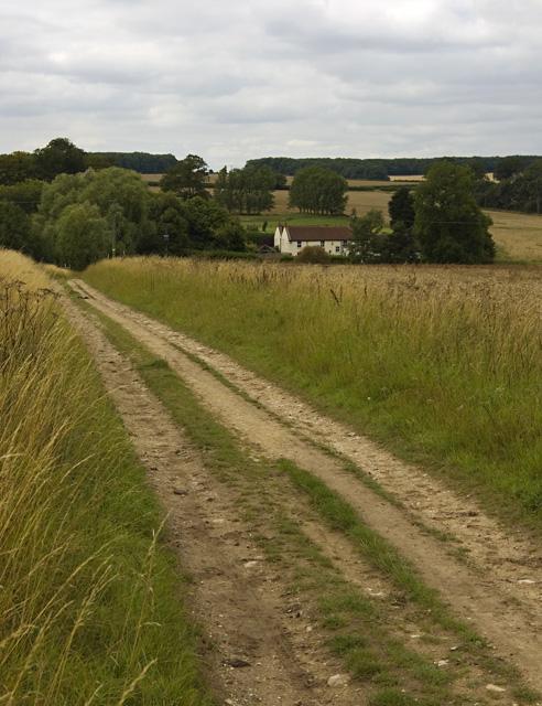 Looking towards Wauldby Manor Farm
