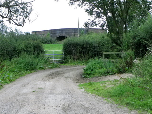 Byway near Clare Cottages