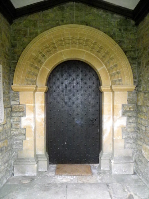 Doorway, The Church of St Mary Magdalene