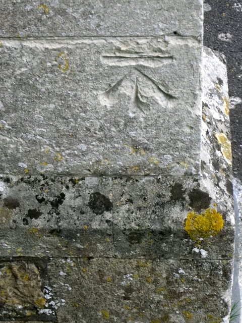 Bench Mark, The Church of St Mary Magdalene