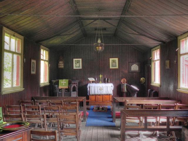 St Chad's Mission Church, Blists Hill
