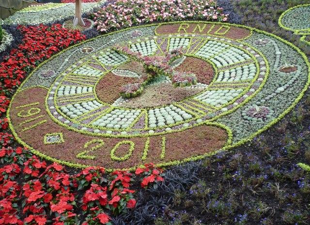 Floral Clock, 2011