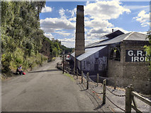 SJ6903 : Ironworks, Blists Hill by David Dixon