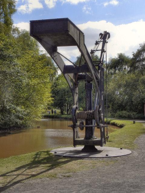 Crane, Shropshire Canal