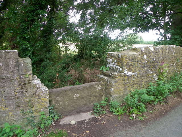 Stone stile, Marsh Lane
