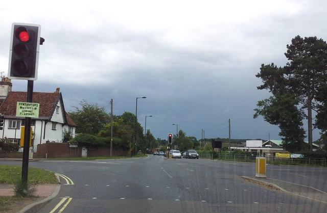 Junction of Wood Lane & Melton Road