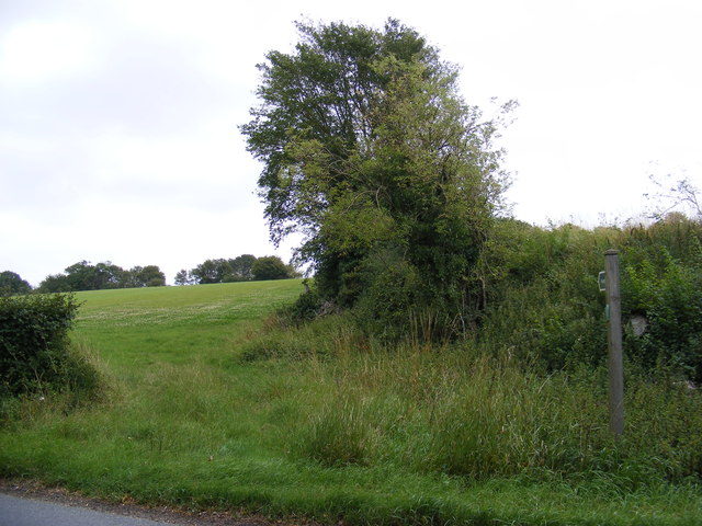 Footpath to Framsden  & Helmingham Primary School