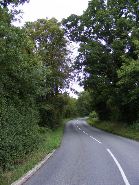 B1077 looking towards New Road