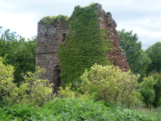 Remains of Cockburnspath Tower