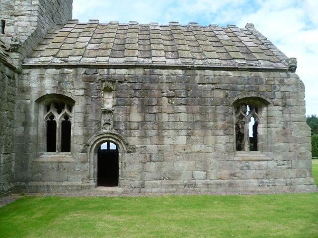 Dunglass Church, choir exterior