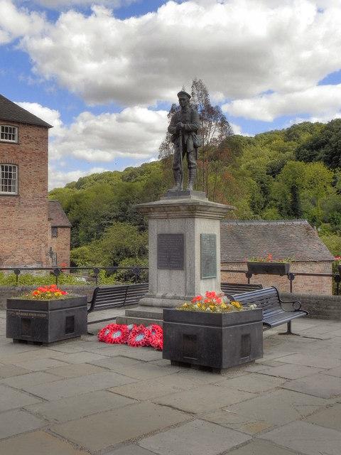 War Memorial at Ironbridge