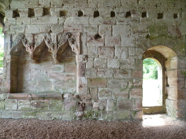 Dunglass Church, choir interior