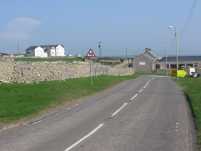 Entering Southerndown on the B4524