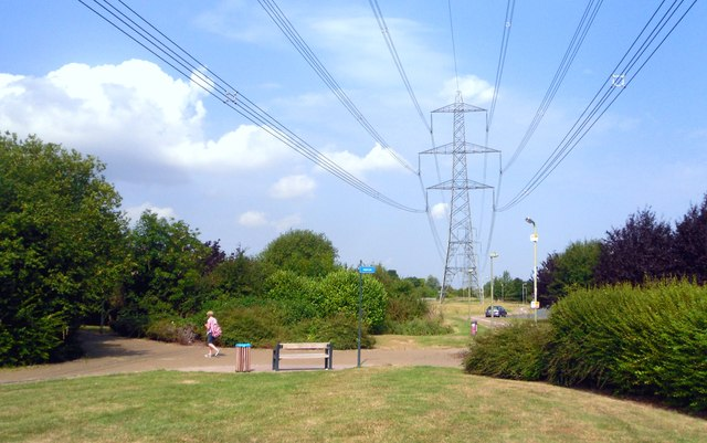 Pylons and Cables in Didcot
