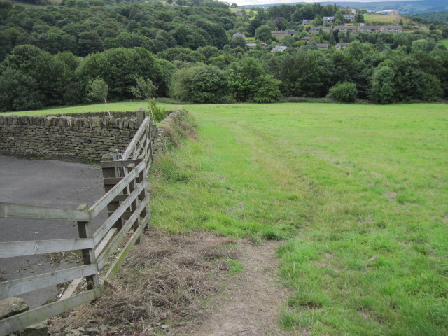 Footpath near High Royd Farm