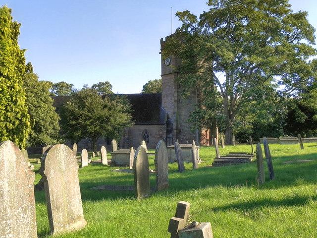 The Parish Church of St Luke, Hodnet
