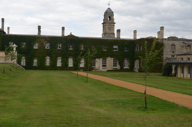 East end of Wrest Park house in French style