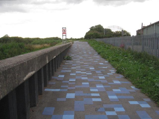 Trent side path