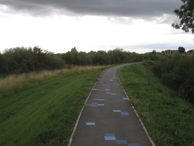 Trent side path